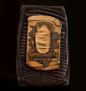 "SOLD ""Letter to Athena"" (LR-053), by Laurie Rolland hand-built ceramic – 9"" (H) x 6"" (W) $125"