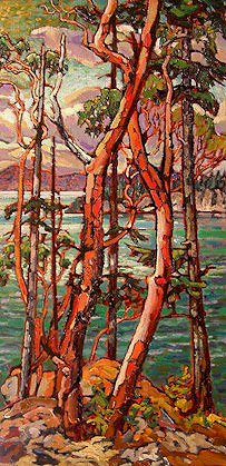 "SOLD ""Daniel's Point, Pender"" 12 x 24 - oil $940 Framed"