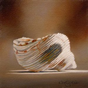 "SOLD ""Everlasting"" by Mickie Acierno 6 x 6 - oil $300 (thick canvas wrap without frame)"