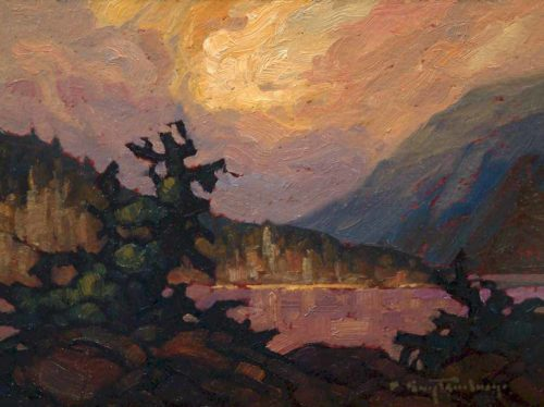 "SOLD ""South Stave,"" by Phil Buytendorp 6 x 8 - oil $460 Framed"