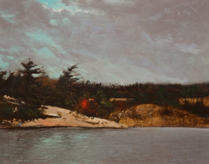 "SOLD ""La Cloche,"" by David Lidbetter 11 x 14 – oil $1100 Unframed"