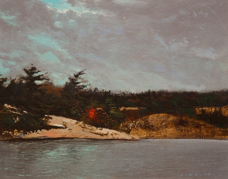 "SOLD ""La Cloche,"" by David Lidbetter 11 x 14 - oil $1100 Unframed"
