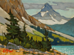 "SOLD ""Alberta Dreaming,"" by Graeme Shaw 6 x 8 - oil $435 Unframed $665 in show frame"