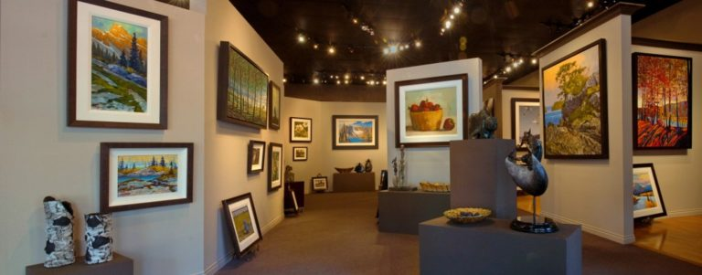 White Rock Gallery interior