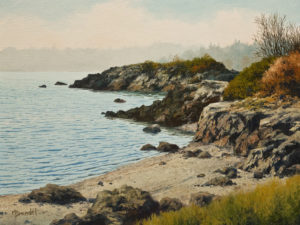 """Morning Mist"" by Merv Brandel 9 x 12 - oil $1025 Unframed"