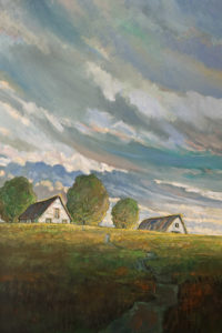 """Farm in Late Light,"" by Steve Coffey 24 x 36 - oil $2640 Unframed"