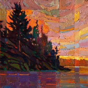 SOLD No. 2039 by Bob Kebic 12 x 12 - oil $880 Unframed