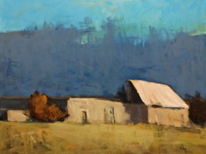 """Nobody Home No.1"" by Robert P. Roy 30 x 40 – acrylic $2650 Unframed"