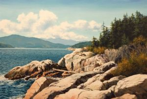 """North Shore,"" by Merv Brandel 20 x 30 - oil $3700 Unframed"