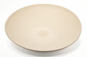 "SOLD Bowl (BB-4366) by Bill Boyd ceramic - 17"" (W) x 4"" (H) $650"