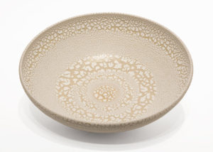"SOLD Bowl (BB-4367) by Bill Boyd ceramic - 10"" (W) x 3"" (H) $130"