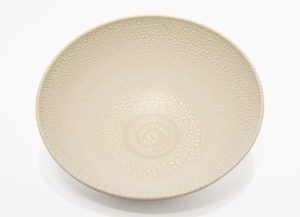 "SOLD Bowl (BB-4368) by Bill Boyd ceramic - 10.5"" (W) x 3.5"" (H) $150"