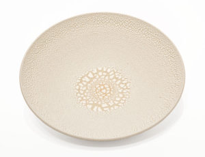 "Bowl (BB-4369) by Bill Boyd ceramic - 9.5"" (W) x 2.5"" (H) $100"