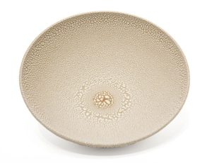 "SOLD Bowl (BB-4370) by Bill Boyd ceramic - 9"" (W) x 3"" (H) $120"