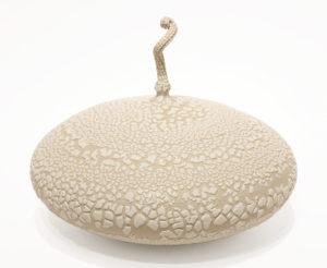"Gourd (BB-4372) by Bill Boyd ceramic - 9"" (H) x 10.5"" (W) $550"