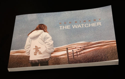 This new volume The Watcher (2018) celebrates a special love story in a series of 50 paintings.