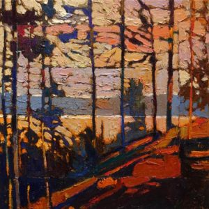 SOLD No. 2086 by Bob Kebic 10 x 10 – oil $730 Unframed