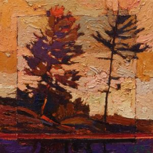 SOLD No. 2089 by Bob Kebic 10 x 10 - oil $730 Unframed