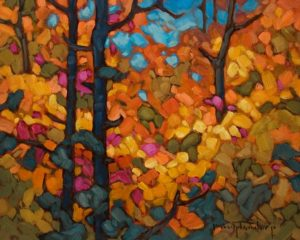 """Abundant Orange"" by Phil Buytendorp 8 x 10 - oil $625 Unframed"