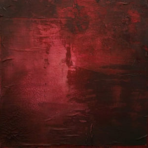 """""""Call Me Ruby,"""" by Laura Harris 24 x 24 - acrylic $2550 (thick canvas wrap)"""