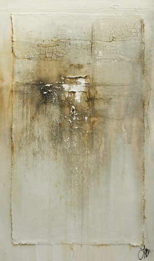 """""""Deliciously Quiet,"""" by Laura Harris 20 x 34 - acrylic $2800 (thick canvas wrap)"""