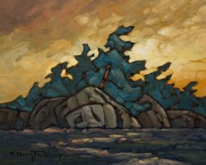 """Island Dawn"" by Phil Buytendorp 8 x 10 - oil $625 Unframed"