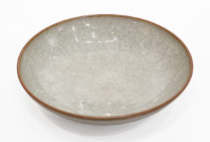 "Bowl (BB-4431) by Bill Boyd crystalline-glaze ceramic - 9"" (W) $120"