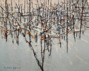 """Tangle 5,"" by David Lidbetter 8 x 10 - oil $900 Unframed"