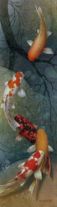 """""""In Reflection"""" 10 x 36 – Giclée print on canvas Artist's Proof – $795 Unframed"""