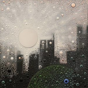 "SOLD ""Almost impudent sunbeams,"" by Ewa Tarsia 16 x 16 - acrylic $890 Unframed"