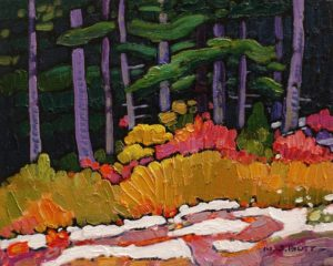 """Before Winter,"" by Nicholas Bott 8 x 10 - oil $1090 Unframed"