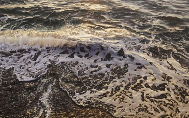 """""""Release,"""" by Ray Ward 30 x 48 - oil $6500 (thick canvas wrap)"""