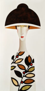 "SOLD ""Bella in Spring,"" by Danny McBride 24 x 48 - acrylic $4100 (thick canvas wrap)"