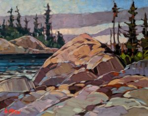 """Between Showers,"" by Graeme Shaw 11 x 14 - oil $735 Unframed"