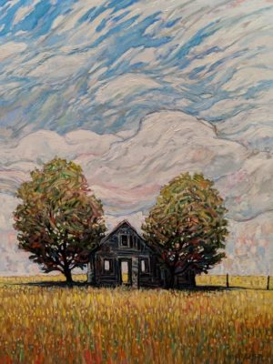 """""""The Day Passing,"""" by Steve Coffey 36 x 48 - oil $3950 Unframed"""