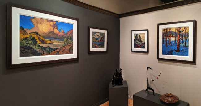 Timeless Show Fall 2019 Phil Buytendorp gallery wall