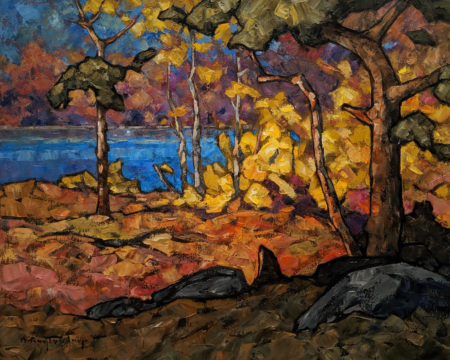 "SOLD ""Sunny Solstice,"" by Phil Buytendorp 16 x 20 - oil $1625 Unframed"