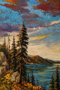 """Okanagan, North Vista,"" by Rod Charlesworth 24 x 36 - oil $3295 (thick canvas wrap)"