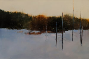 "SOLD ""The Bones 2,"" by David Lidbetter 24 x 36 - oil $3725 Unframed"