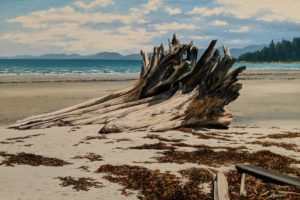 """Tribune Bay,"" by Merv Brandel 20 x 30 - oil $3700 Unframed"