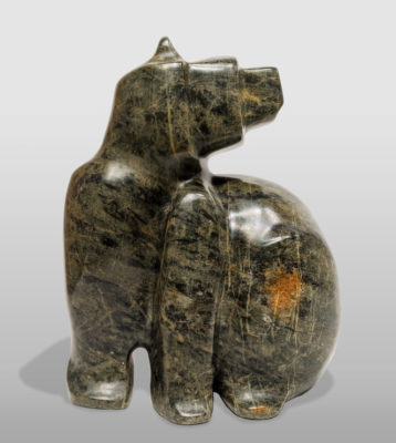 """""""Keep Your Distance,"""" by Marilyn Armitage 9"""" (H) x 6 1/2"""" (L) - soapstone $800"""