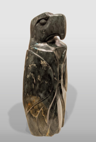 """""""Proud Leader,"""" by Marilyn Armitage 22"""" (H) - soapstone $1850"""