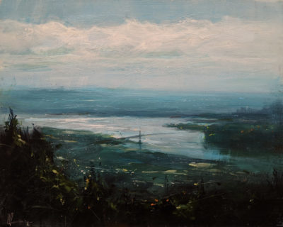 """River of Time,"" by William Liao 16 x 20 $1235 Unframed"