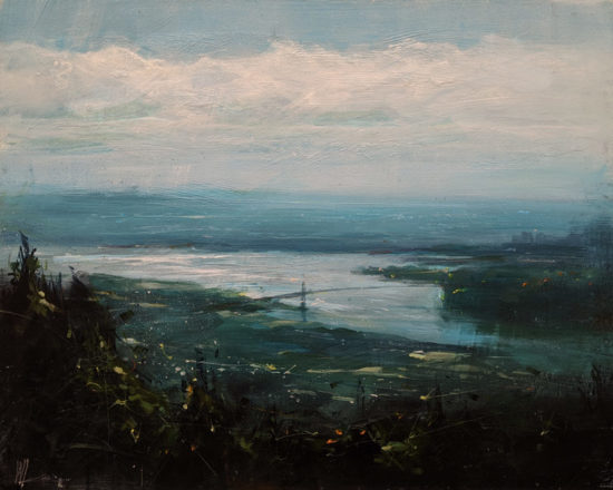 """""""River of Time,"""" by William Liao 16 x 20 $1235 Unframed"""