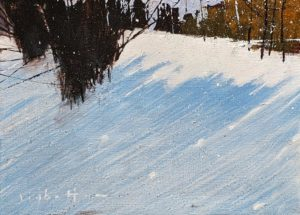 """""""Any Day Now,"""" by David Lidbetter 5 x 7 - oil $600 Unframed"""