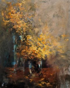 """""""Amazing Grace,"""" by William Liao 16 x 20 - oil $1235 Unframed"""