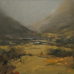 """""""Silent Valley,"""" by William Liao 12 x 12 - oil $635 Unframed"""