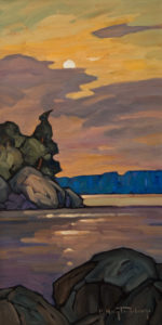 """SOLD """"Calm,"""" by Phil Buytendorp 8 x 16 - oil $880 Unframed"""