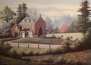 """""""Country Elegance"""" 20 x 28 limited edition print $195 Unframed"""