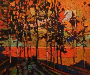 SOLD No. 1090 by Bob Kebic 10 x 12 - oil $800 Unframed